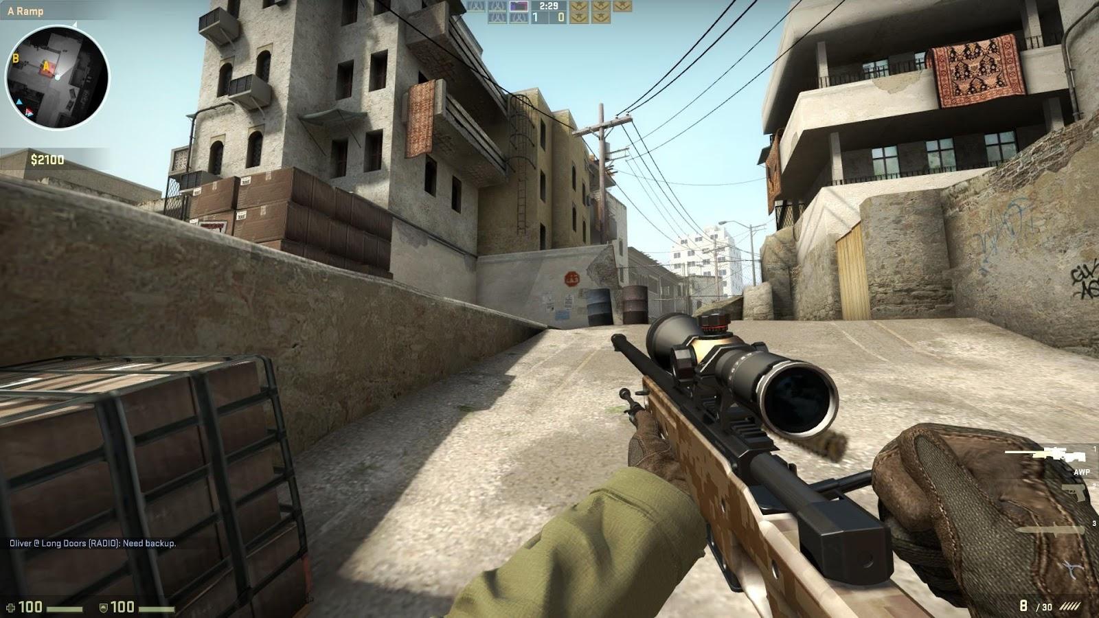 CSGOF rifle