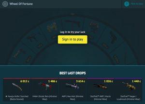 CSGOFAST.COM wheel of fortune